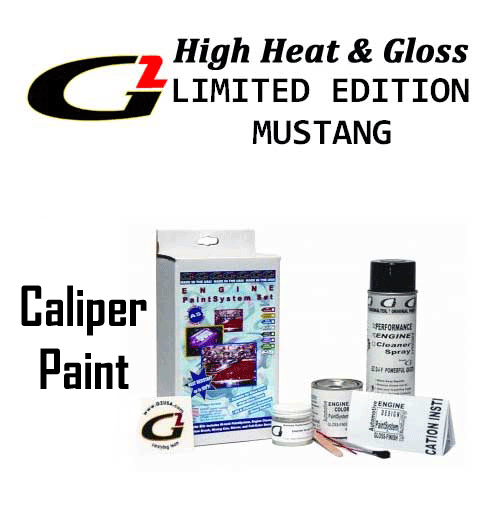 G2 Ford Mustang Limited Edition Caliper Paints