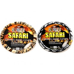 Steering Wheel Cover Safari Tiger Pattern
