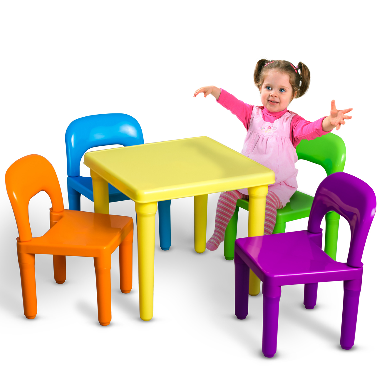 Free Tables And Chairs: Kids Table And Chairs Play Set Toddler Child Toy Activity